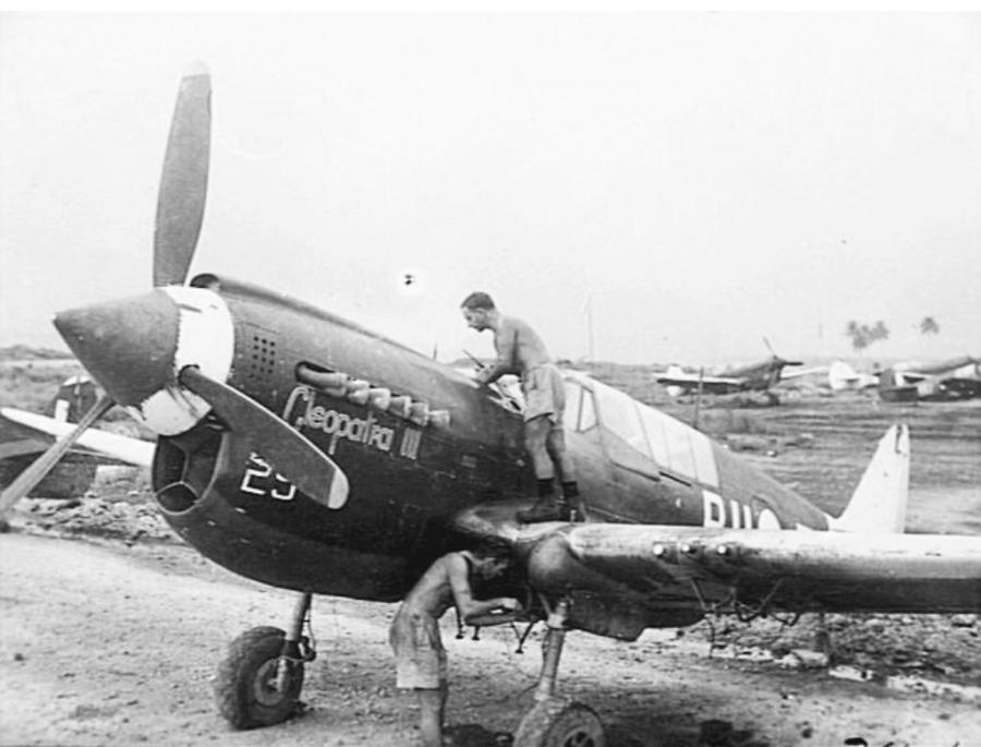 1/48ITALERI P-40 A29-629(5